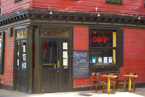 Bridge Cafe, 279 Water Street, Gallus Mag, River Pirates, South Street Seaport