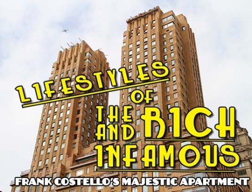 Frank Costello, Majestic Apartments, 115 Central Park West