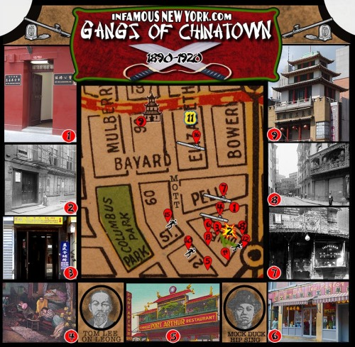 Tong Wars: Gangs of Chinatown Map Click to Enlarge in a New Window