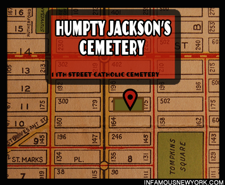 "Thomas ""Humpty"" Jackson lead his turn-of-the-century gang from the 11th Street Catholic Cemetery."