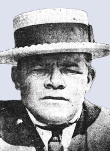 Humpty Jackson often carried a pistol in his hat.