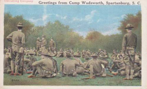 Monk-Eastman-Infantry-Traning-WWI-27th-Infantry-Division-Camp-Wadsworth