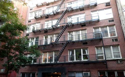 Genovese owned this apartment building at 180 Thompson Street in Greenwich Village. It served as the headquarters for his ERB Strapping corporation, a powerhouse in the Port of New York.