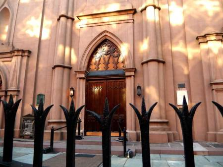 Old Saint Patrick's Cathedral on Mulberry Street.