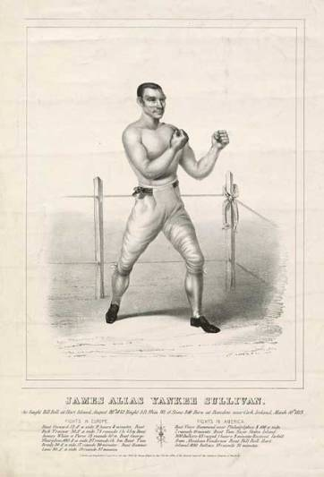 Yankee Sullivan, a close friend of Bill The Butcher Poole, boxed on Hart Island