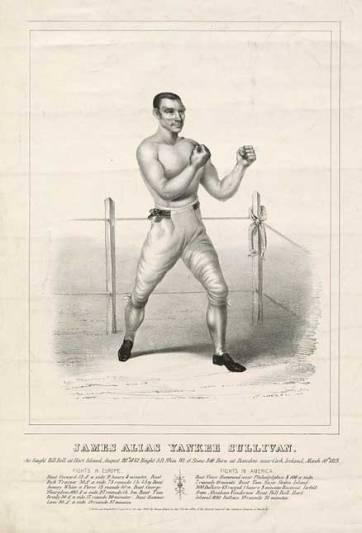 Yankee Sullivan, a close friend of Bill The Butcher Poole, boxed on Hart Island