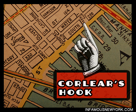 Corlears Hook Map